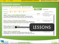 Lessons Screen